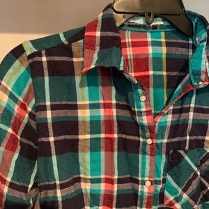 Maurices Tops - Plaid button up flannel